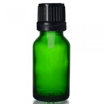 20ml Yeşil Şişe - Siyah Kapaklı