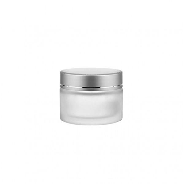 Kozmetik Buzlu Cam Krem Kavanozu - 30ml