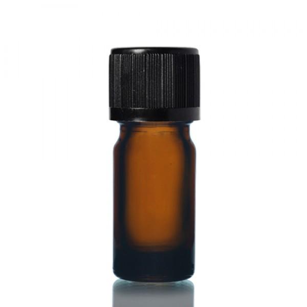 5ml Amber - Siyah Kapak