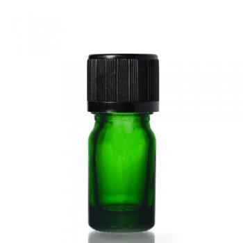 5ml Yeşil Şişe - Siyah Kapak