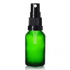 20ml Yeşil Şişe - Siyah Sprey