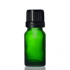 10ml Yeşil Şişe - Siyah Kapaklı