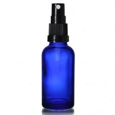 30ml Mavi Şişe - Siyah Sprey
