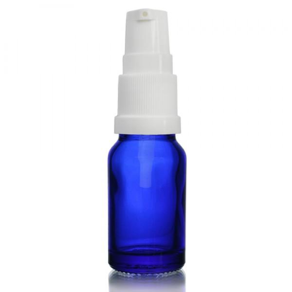 10ml Mavi Şişe - Beyaz Pompa