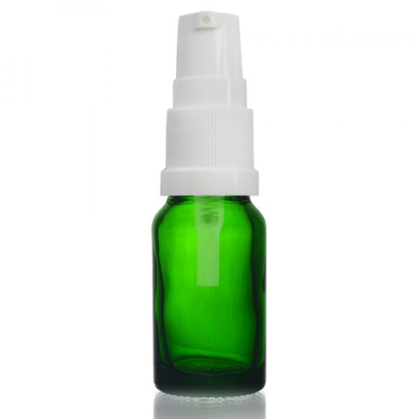 10ml Yeşil Şişe - Beyaz Pompa