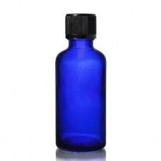 50ml Mavi Şişe - Siyah Kapak