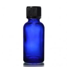 30ml Mavi Şişe - Siyah Kapak