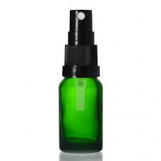 10ml Yeşil Şişe - Siyah Sprey