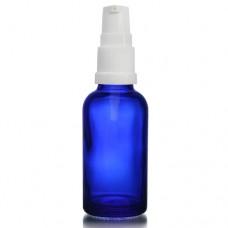 30ml Mavi Şişe - Beyaz Pompa