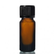 10ml Amber Şişe - Siyah Kapak