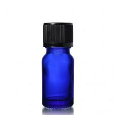 10ml Mavi Şişe - Siyah Kapak
