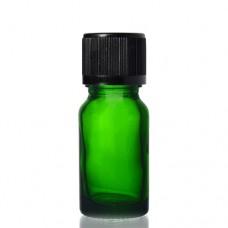 10ml Yeşil Şişe - Siyah Kapak