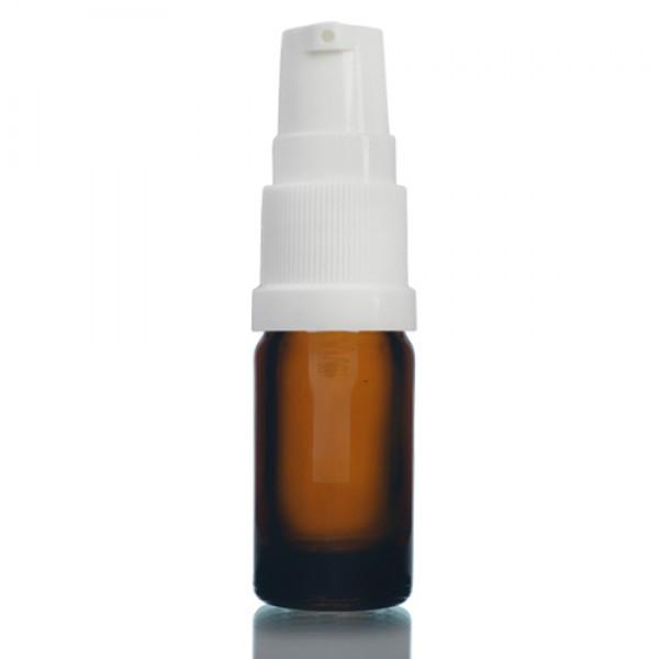 5ml Amber - Beyaz Pompa