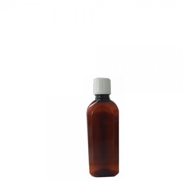 125 ML Boş Pet Plastik Şişe Toptan Şişe Amber 25 mm Ağız